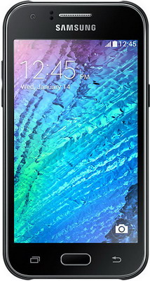 Смартфон Samsung Galaxy J1 (2016) SM-J 120 F/DS черный смартфон samsung galaxy j1 2016 black