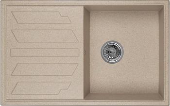 Кухонная мойка Weissgauff QUADRO 800 Eco Granit песочный  weissgauff quadro 420 eco granit песочный