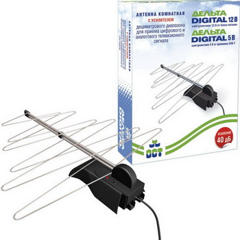 ТВ антенна DELTA Digital 12 V (К131А.03) dvb t digital antenna