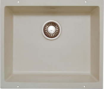 Кухонная мойка LAVA U.1 (LATTE белый) кухонная мойка ukinox stm 800 600 20 6