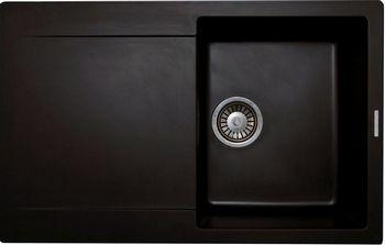 Кухонная мойка LAVA L.4 (LAVA чёрный металлик) цена