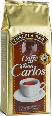 Кофе зерновой Carraro Don Carlos 1кг carlos rivera mexico