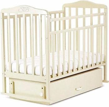 Детская кроватка Sweet Baby Luciano Nuvola Bianca (Белое облако) бампер 2190 гранта пер белое облако