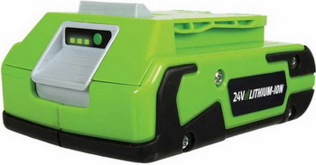 Аккумулятор Greenworks G 24 B2 2902707 аккумулятор greenworks g80b2