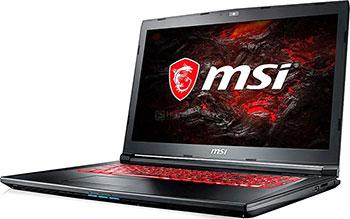 Ноутбук MSI GL 72 M 7REX-1481 XRU (9S7-1799 E5-1481) Black msi original zh77a g43 motherboard ddr3 lga 1155 for i3 i5 i7 cpu 32gb usb3 0 sata3 h77 motherboard