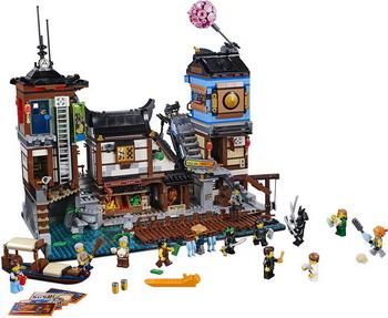 Конструктор Lego Ninjago: Порт НИНДЗЯГО Сити 70657 lego друзей series 6 до 12 лет сердце лейк сити йогурт мороженое магазин 41320 lego детские строительные блоки игрушки