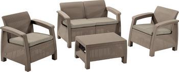 Купить Комплект мебели Allibert, Corfu set капучино 17197361/КАП, Венгрия