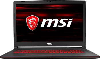 Ноутбук MSI GL 73 8RD-247 XRU (9S7-17 C 612-247) Black msi gl72m 7rdx black gl72m 7rdx 1488ru