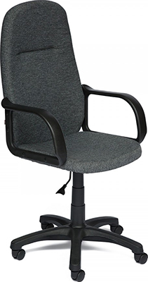 Офисное кресло Tetchair LEADER (ткань серый 207) офисное кресло tetchair ostin ткань голубой серый 2613 12