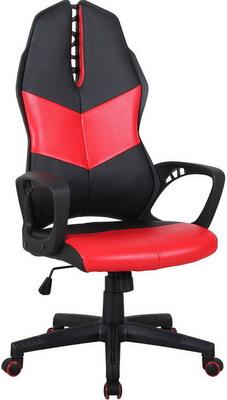Кресло Tetchair iWheel кож/зам черный/красный кресло tetchair runner кож зам ткань черный жёлтый 36 6 tw27 tw 12