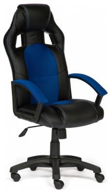 Кресло Tetchair DRIVER (кож/зам/ткань черный/синий 36-6/10) кресло tetchair driver кож зам ткань черный бордо 36 6 13