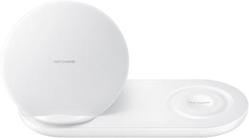 Быстрое беспроводное зарядное устройство Samsung EP-N 6100 white (EP-N 6100 TWRGRU) usams ep 19 white