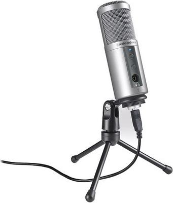 Микрофон Audio-Technica ATR 2500 USB микрофон audio technica atr 6550