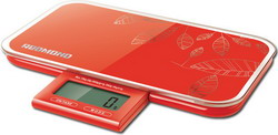 Кухонные весы Redmond RS-721 красные весы кухонные электронные redmond rs 724