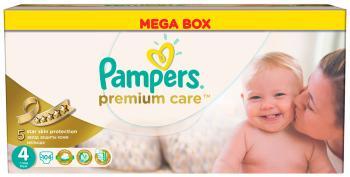 Подгузники Pampers Premium Care Maxi 7-14 кг 4 размер 104 шт подгузники детские pampers подгузники pampers premium care 3 6 кг 2 размер 148 шт