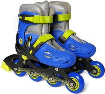 где купить Детские роликовые коньки Moby Kids пласт.  р.30-33 по лучшей цене