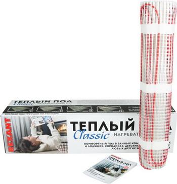 Теплый пол REXANT Classic RNX-11 0-1650
