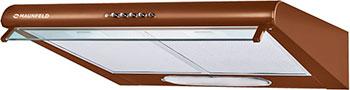 Вытяжка козырьковая MAUNFELD MP 350-2 коричневый вытяжка козырьковая maunfeld mp 350 1 с бежевый