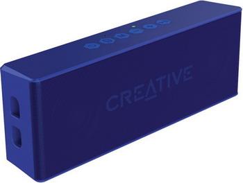 Портативная акустика Creative MUVO 2 Blue колонка creative muvo mini black 51mf8200aa000