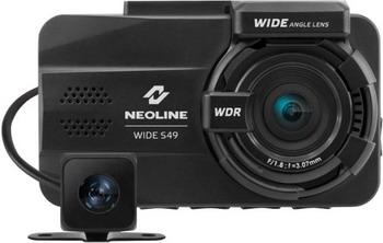Автомобильный видеорегистратор Neoline Wide S 49 DUAL черный видеорегистратор neoline wide s39