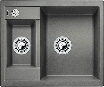 Кухонная мойка BLANCO METRA 6-F алюметаллик с клапаном-автоматом