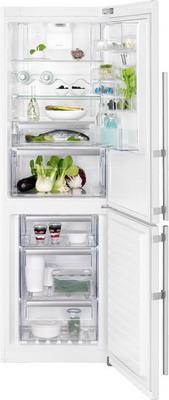 Двухкамерный холодильник Electrolux EN 3489 MFW CustomFlex встраиваемый холодильник electrolux enn93111aw
