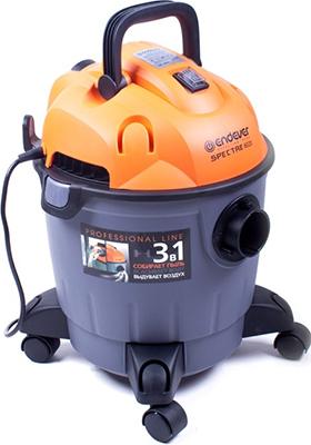 Строительный пылесос Endever Spectre 6020  серый/оранжевый пылесос endever spectre 6010
