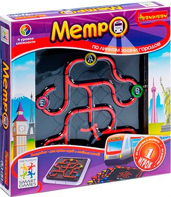 Логическая игра Bondibon Метро ВВ0846 bondibon логическая метро