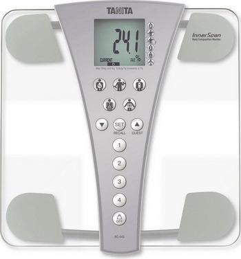 Весы напольные TANITA BC-543 Silver весы напольные tanita bc 731 black