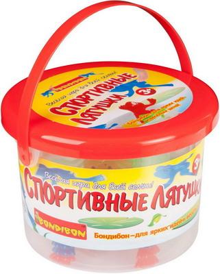 Настольная игра Bondibon Спортивные Лягушки ВВ2074 игра bondibon детектор лжи bb1182 196484