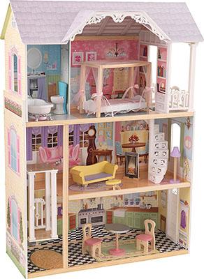 Трехэтажный дом из дерева для Барби KidKraft Кайли 65869_KE kidkraft кукольный домик кайли