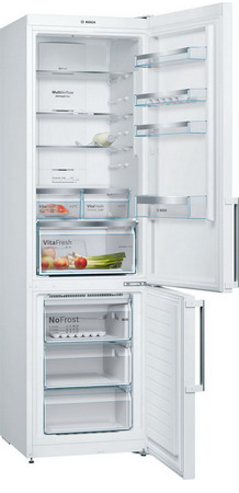 Двухкамерный холодильник Bosch KGN 39 XW 3 OR холодильник bosch kgn39nw13r двухкамерный белый