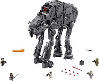 Конструктор Lego STAR WARS Штурмовой шагоход Первого Ордена 75189 конструктор lego star wars шагающий штурмовой вездеход at te капитана рекса 75157
