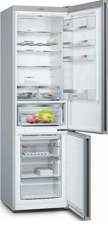 Двухкамерный холодильник Bosch KGN 39 LR 3 AR холодильник bosch kgn39nw13r двухкамерный белый