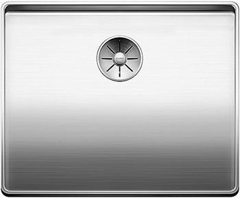 Кухонная мойка BLANCO ATTIKA 60-T нерж. сталь зеркальная полировка без клапана автомата 521656