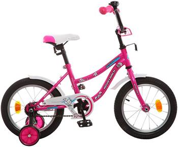 Велосипед Novatrack 14'' NEPTUNE розовый 143 NEPTUN.PN5 велосипед novatrack 14 urban чёрный 143 urban bk8