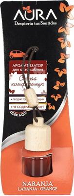 Ароматизатор AURA для автомобиля с ароматом апельсина и помелы 6 мл стоимость