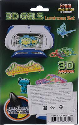 Набор картриджей 3D Making со светящимся жидким полимером 1CSC 20003387