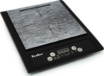 Настольная плита TESLER PI-13 черная индукционная электроплитка tesler pi 22 чёрный