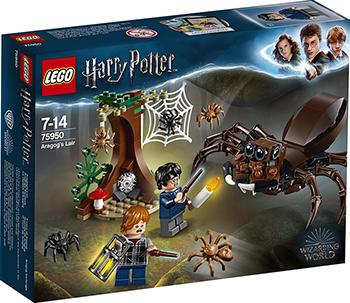 Конструктор Lego Логово Арагога 75950 конструктор lego elves 41178 логово дракона