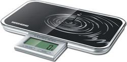Кухонные весы Redmond RS-721 черные кофеварка redmond rсm 1502