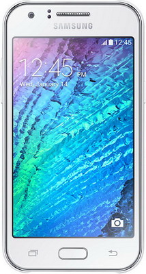Смартфон Samsung Galaxy J1 (2016) SM-J 120 F/DS белый смартфон samsung galaxy j1 2016 black