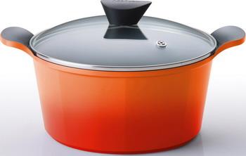 Кастрюля Frybest ORCV-C 20 Orange frybest orcv c 24 orange