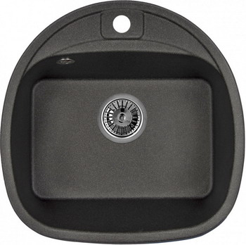 Кухонная мойка Weissgauff SOFTLINE 500 Eco Granit черный softline 10367