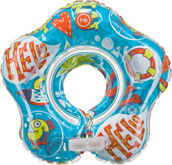 Надувной круг Happy Baby DOLFY 121006