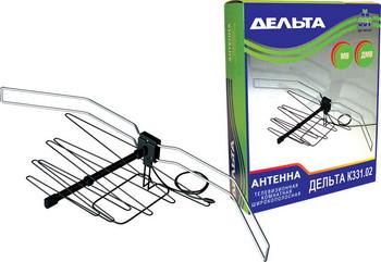 цена на ТВ антенна DELTA К331.02 всеволновая