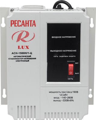 Стабилизатор напряжения Ресанта АСН-1500 Н/1-Ц Lux