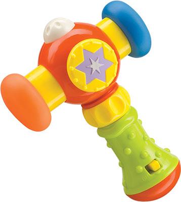 Музыкальный молоток Happy Baby MAGIC HAMMER 330067 развивающая игрушка музыкальный молоток happy baby magic hammer звук