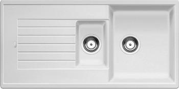 Кухонная мойка BLANCO ZIA 6S SILGRANIT белый кухонная мойка ukinox stm 800 600 20 6