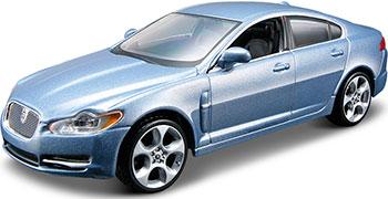 цена на Коллекционная машинка BBurago Jaguar XF металлическая 18-43019
